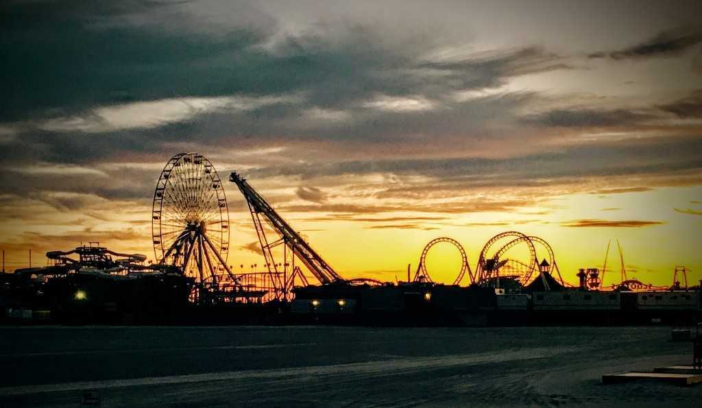 Wildwood NJ Sunset